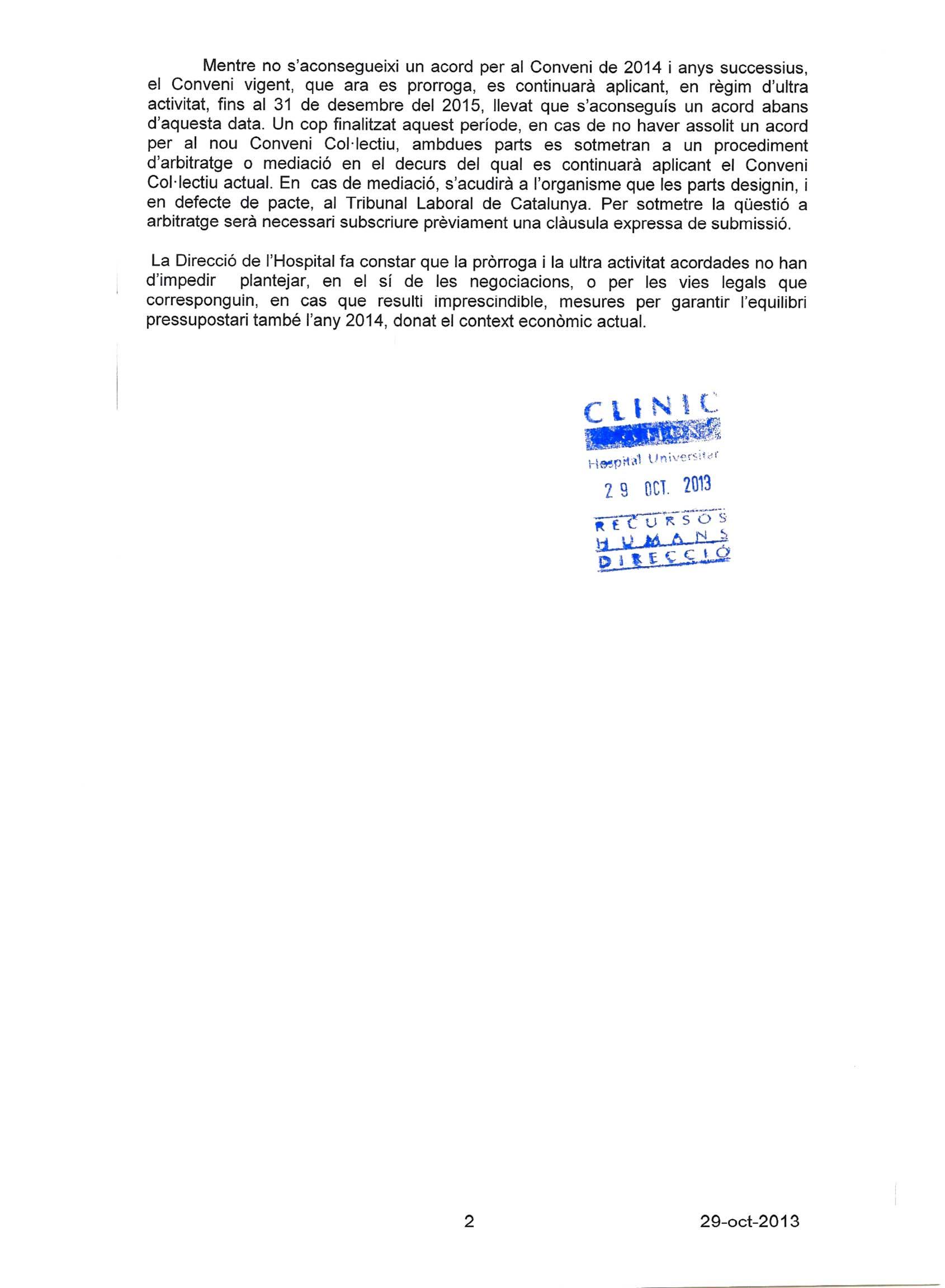 AIPS Consorci HCB » DOCUMENTO DE PRE ACUERDO.
